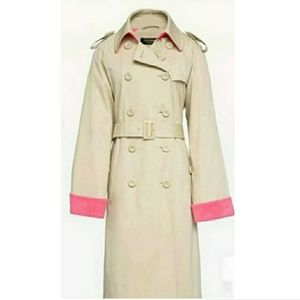 Juicy Couture Black Label Microterry Trench
